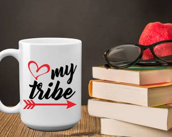 Love My Tribe | Teacher Gift | Back to School | Gift For Teacher | From Students | Teacher Appreciation | Teacher Christmas | Teacher Week |