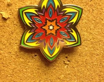 Sacred Geometry Pin
