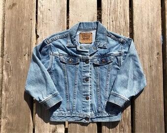 Levi's Kid's Sz 6X Vintage Jean Jacket