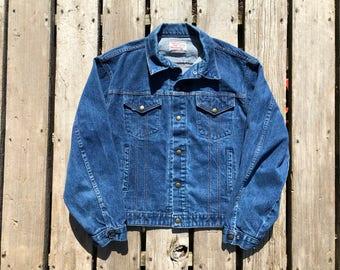 Vintage Large Jean Jacket