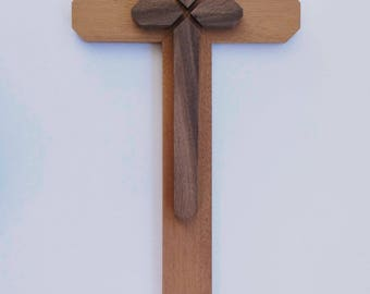 Wooden Cross To Bring Attention To The Cross Of Our Lord