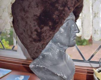 100% genuine sheepskin hat