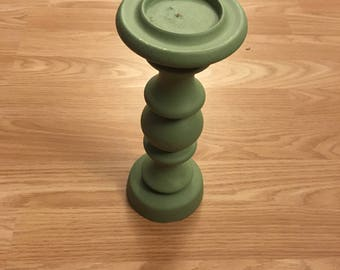 Duck Egg Blue Candle Stick