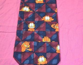 Vintage Garfield the Cat Novel Ties Mens Necktie