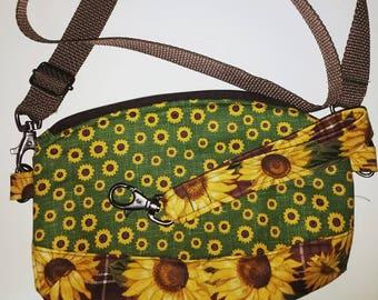 Sunflower Convertible Small Purse