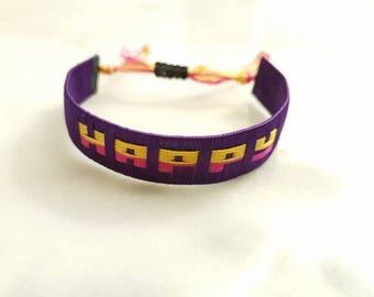 Woven Friendship Bracelet, Name Bracelet, BFF bracelets