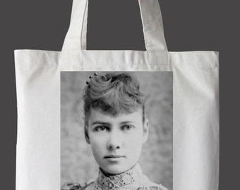 "Nellie Bly ""Nevertheless, She Persisted"" Tote Bag"