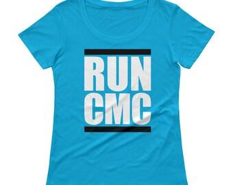 RUN CMC Ladies' Scoopneck T-Shirt