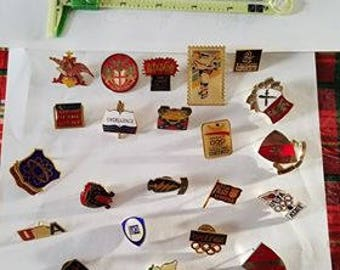 Old Collectible Pins  .Free Shipping