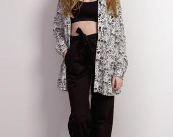 Waist trousers ' Lene ' black