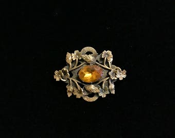 Gold Wash Brooch