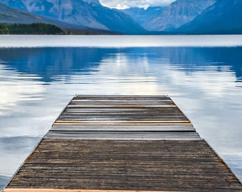 Lake McDonald, Glacier National Park, Montana, Landscape Photography, Nature Photography, Fine Art Photography, Wall Art, Home Decor, Gift