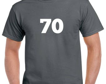 70 Shirt- 70th Birthday Tshirt- 70th Birthday Gift