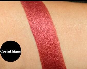 Red and Purple Eyeshadow, Cruelty Free Makeup, Mineral Eyeshadow, Eyeshadow Palette, Vegan Makeup, Gifts for girlfriend, Pressed Eyeshadow