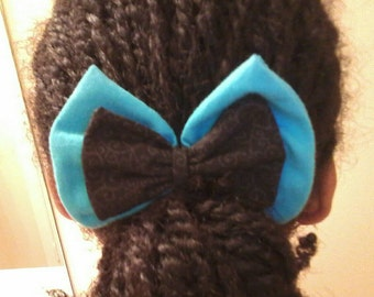 Cute Double Layered Hairbow