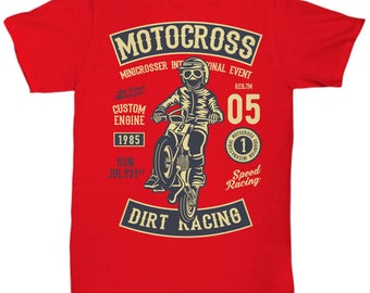 Motocross 1985 Dirt Racing T-shirt