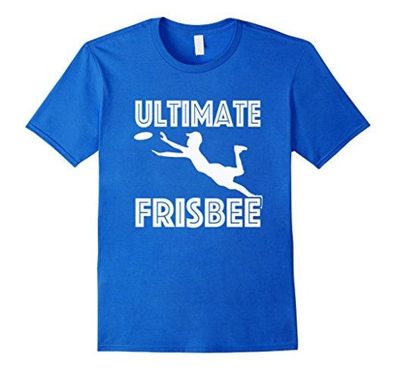 Ultimate Frisbee T-Shirt Ultimate Frisbee Gift Gift For