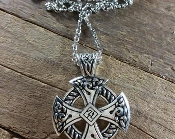 Celtic Irish Cross  - Celtic Necklace