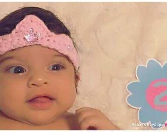 Crochet Tiara | Newborn | Baby Girl