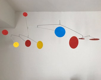 Calder Inspired Mobile Sculpture