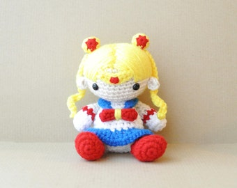 Sailor Moon | Amigurumi Doll | READY TO SHIP