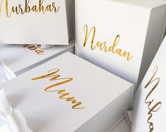Medium Personalised Gift Box -