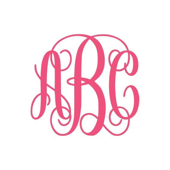 Download Interlocking Vine Monogram Font SVG, Vine Monogram Font ...