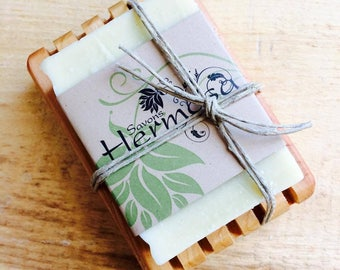 SOAP with hemp oil with SOAP in Cedar soft and ideal for sensitive skin