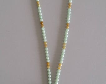 Burmese Jade Necklace with Pendant