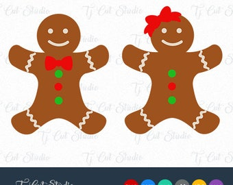 Gingerman svg,Gingerbread svg, gingerbread man svg, Svg Files for Silhouette Cameo or Cricut Commercial & Personal Use