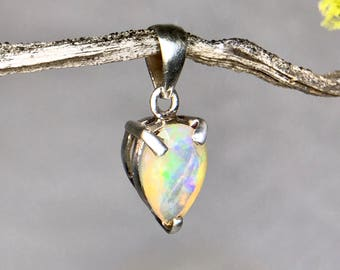 PRICE REDUCED* Fire Opal Pendant