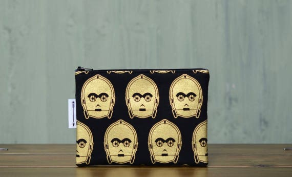 Star Wars C3PO zipped pouch