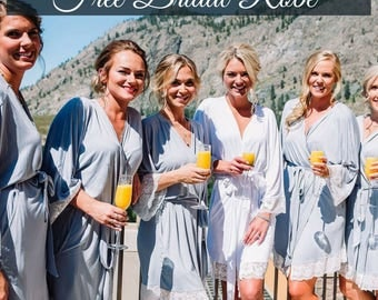 Bridesmaid Robes set of 7, Bridesmaid Robes Set of 8, Bridesmaid Robes Set of 9, Bridesmaid Robes Set of 10, Bridesmaid Robes Set of 11