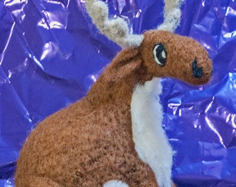 Roly Poly Christmas Reindeer.. with or without red nose!