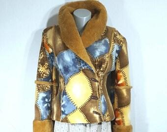 Coat - Short coat - Vintage coat.