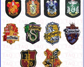 Harry Potter Embroidery iron sew on Patch