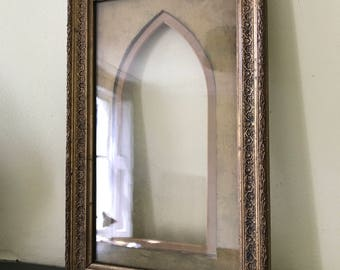 Gold gilded, decorative frame