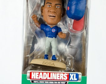 1999 Limited Edition Headliners XL Series 1 Sammy Sosa Figure Chicago Cubs