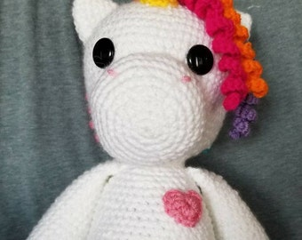 Amigurumi Unicorn - made to order