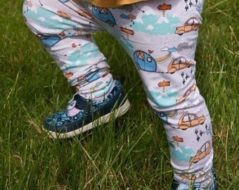 Childs Camper Leggings - Organic Baby Clothes, Toddler Clothes, Trousers, Camper, Leggings