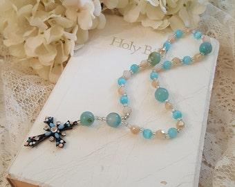 Anglican Prayer Beads - Ladies Rosary - Glory