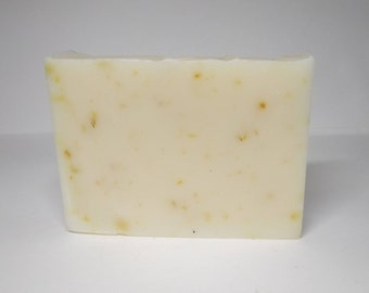CALENDULA Handmade Soap. Shea Butter Soap with Essential Oils