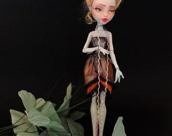 OOAK Monster High Doll Repaint—Polly (Lagoona Blue Repaint)