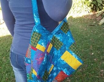 Rainbow Multi-coloured Shweshwe bags