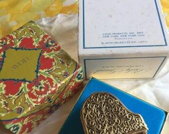 NIB Vintage Avon Baby Grand Perfume Glace', 1971