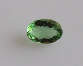 0.75 ct Natural Tsavorite Oval 5.2x7.5 mm Faceted-Tsavorite Garnet High Quality Gemstone