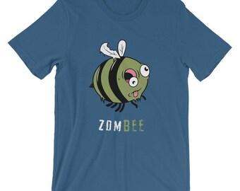 Halloween Tshirt Zombee Zombie Bee