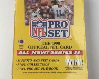 Pro Set 1990 Series II Card Pack Box