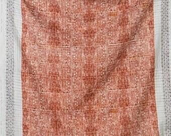 Nani Iro Japanese Fabric  Kokka Ori-some Double Gauze - kuriume - 50cm