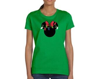 Disney Christmas Lights - Minnie Mouse Shirt - Mickey's Very Merry - Disney Holiday Shirt - Disney Shirt - Disney Women's Shirt